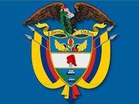 KOLUMBSKÝ ŠTÍT - TOTO je národní štít Kolumbijské republiky