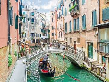 <<Venice>> - Landscape puzzle.