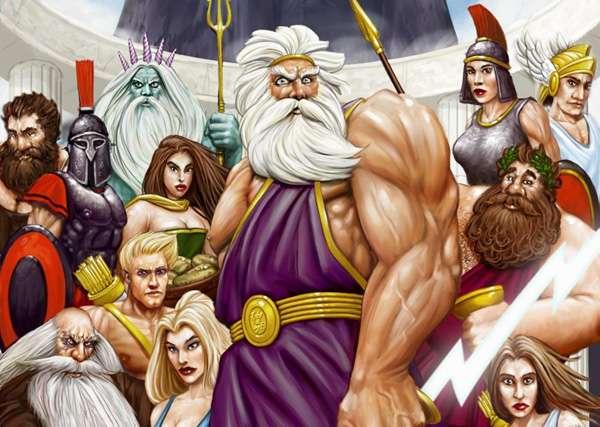 гръцки богове - гръцка история на боговете (14×10)