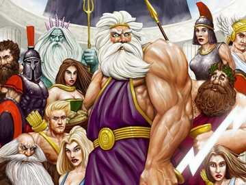 dioses griegos - historia griega de dioses