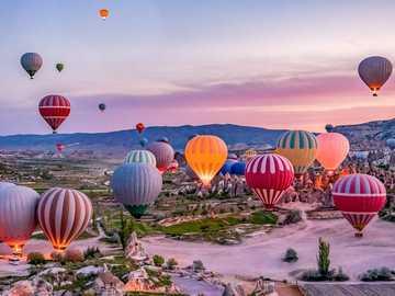 Balloon festival in the sky - Balloon festival in the sky