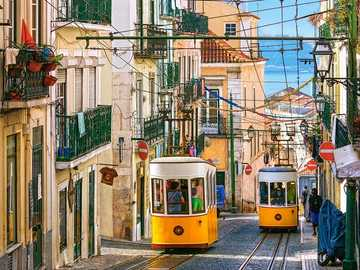 through the streets by train - through the streets by tram