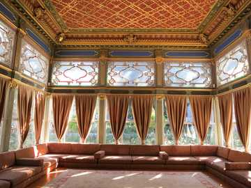 asian room - a chamber in the Ottoman state