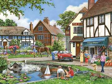 Country Village - Old country English Village
