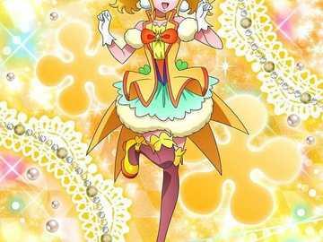 平光 香 葵 (閃亮 天使 Sparkle heilen) - 第十七 部 元氣 ♥ ♥ 光 之 美 少 女主角 之一 , 帶著 托尼 與 和 佳 等 人�