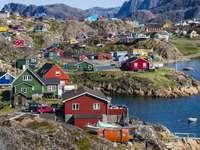 Posizione Sisimiut in Groenlandia