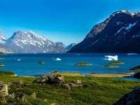 Пейзаж на Гренландия - Пейзаж на Гренландия