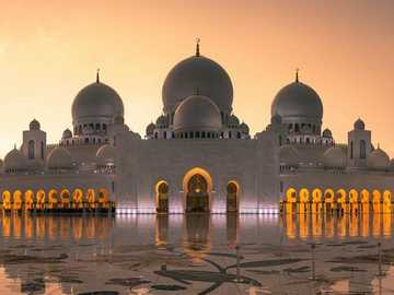 dome mosques - domes of mosques against the west