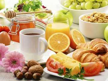 gesundes Frühstück - m .......................