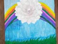 arc en ciel - Un arc en ciel multicolore