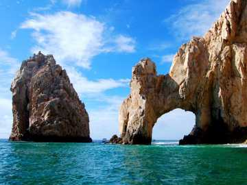 Les caps - Tourisme au soleil et à la plage. Baja California Sur