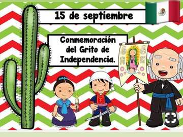 Mexikos Unabhängigkeit. - Waffe, um die wichtigsten Charaktere dieses historischen Ereignisses zu entdecken.