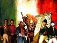 Independência de México - Quebra-cabeça sobre a Independência do México