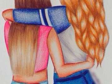 MIGLIORI AMICI - Significa che i migliori amici sono veri e che esistono e che possiamo sempre contare su di loro