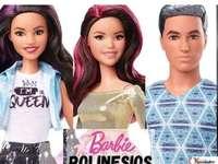 Unsere Puppen - Wie sind Polynesier wie unsere Puppen? Vielen Dank, dieses Puzzle ist Daniela und Valentina Turcios