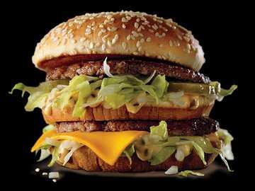Big Mac Mac Donalda - To Big Mac stworzony przez zaginione dzieci. Muszę przestać widzieć teorie na tik tok