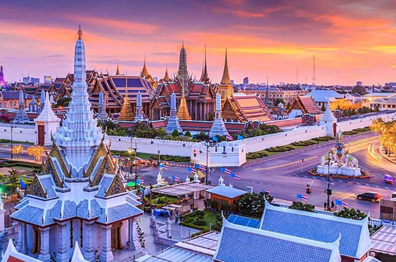 Tailandia - Ko Ratanakosin y Thonburi (10×7)
