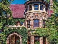 Kamenný dům ve Fort Wayne v Indianě - Kamenný dům ve Fort Wayne v Indianě