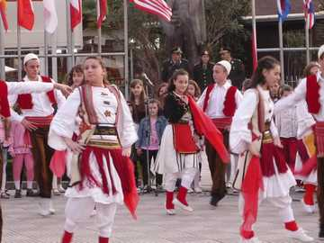 dance in albania - m ..........................