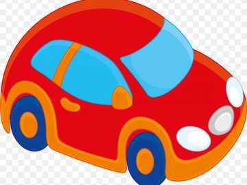 masinuta - färgglad bil, barnleksak