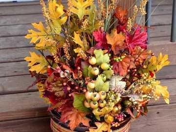 bukiet kwiatów - piękna kompozycja kwiatowa