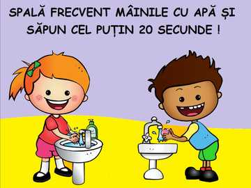 hygiene and prevention rules - take care to wash often