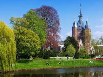 Zwolle Sassenpoort in the Netherlands - Zwolle Sassenpoort in the Netherlands