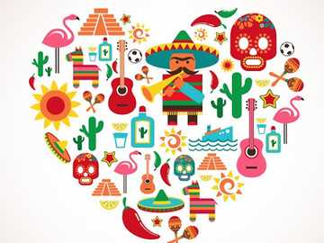 Puzzle Mexico - Make this puzzle that represents the Mexican culture.