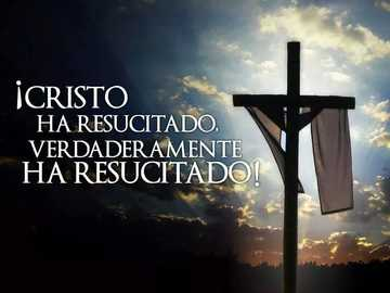 The cross of Jesus - Christ is risen, he is truly risen.