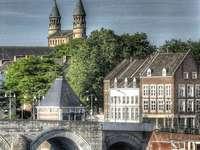 Maastricht stad i Nederländerna