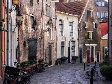 Ciudad de Deventer en los Países Bajos - Ciudad de Deventer en los Países Bajos