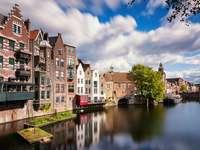 Miasto Rotterdam w Holandii