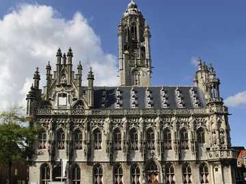 Middelburg Town Hall Zeeland - Middelburg Town Hall Zeeland