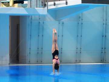 saltando al agua competencia nacional juvenil - m ....................