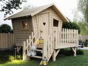 a house for children - m ....................