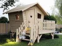 o casă pentru copii - m ....................