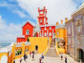 sintra- Portugal en couleur - m .......................