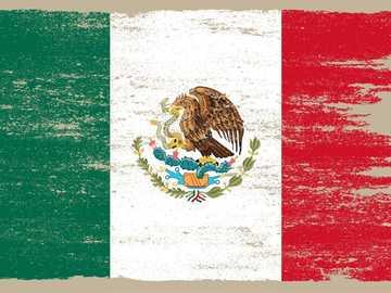 LET'S CELEBRATE THE COUNTRY HOLIDAYS - FLAG, PATRIO DE MEXICO SYMBOL