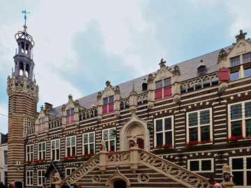 Ville d'Alkmaar aux Pays-Bas - Ville d'Alkmaar aux Pays-Bas