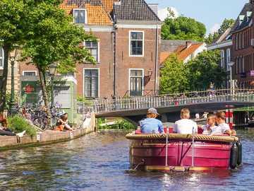 Ville de Leiden aux Pays-Bas - Ville de Leiden aux Pays-Bas