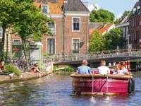 Leiden város Hollandiában