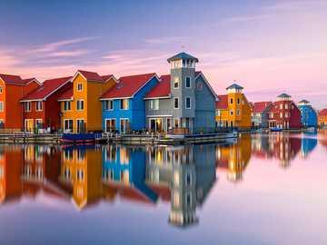 Ville de Groningen aux Pays-Bas - Ville de Groningen aux Pays-Bas