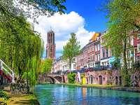 Град Утрехт в Холандия - Град Утрехт в Холандия.