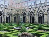 Ogród klasztorny w Utrechcie w Holandii - Ogród klasztorny w Utrechcie w Holandii