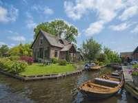 Giethoorn v Nizozemsku