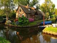 Giethoorn a holland Velence