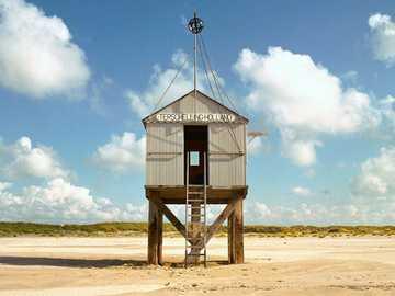 Wyspa Terschelling u wybrzeży Holandii - Wyspa Terschelling u wybrzeży Holandii