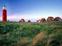 Île de Texel au large de la Hollande - Île de Texel au large de la Hollande