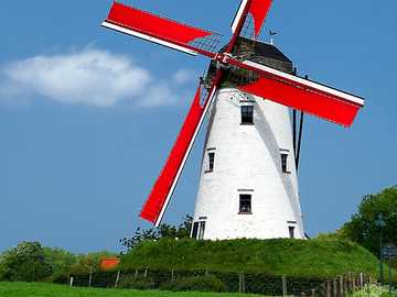 Windmill in the Netherlands - Windmill in the Netherlands