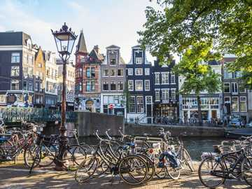 Amsterdam Stadtpanorama Niederlande - Amsterdam Stadtpanorama Niederlande